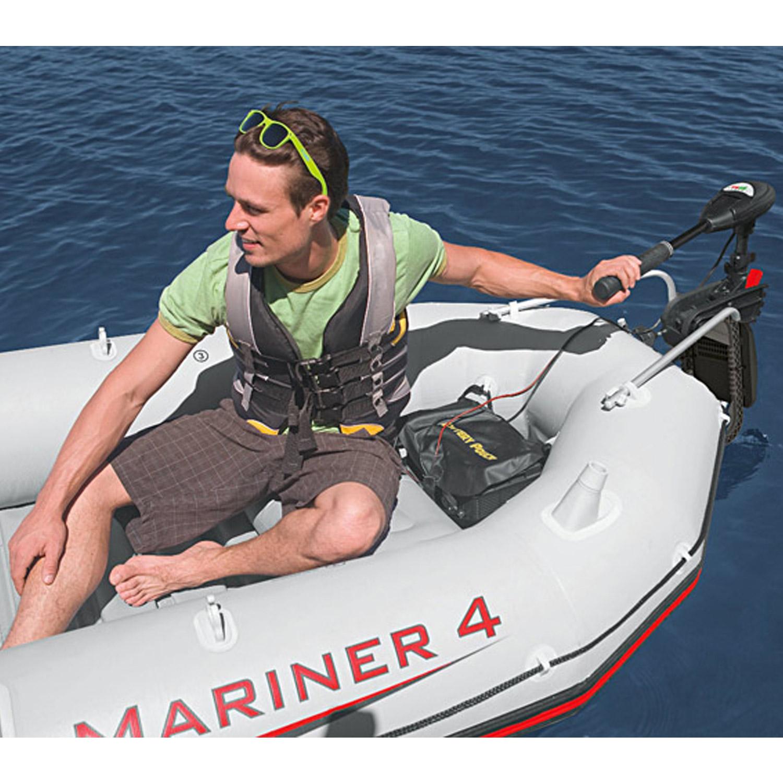 intex bootsmotor elektromotor f r schlauchboot aussenbootmotor 420w. Black Bedroom Furniture Sets. Home Design Ideas