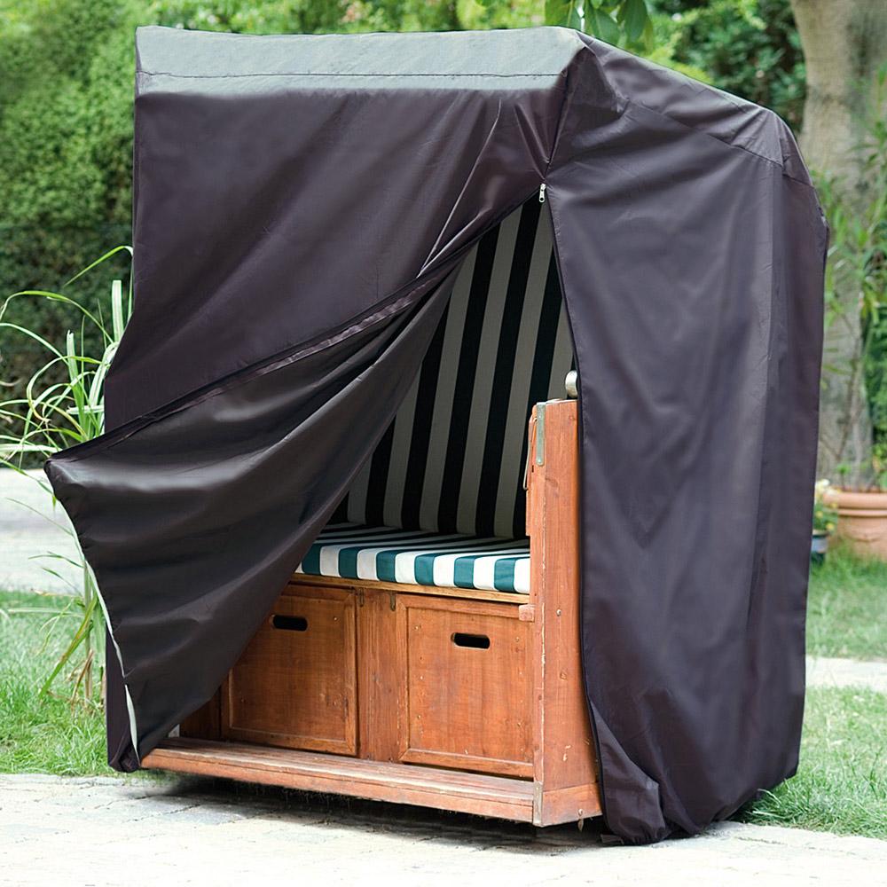 wehncke 15182 luxus schutzh lle 170x130x100cm f r strandkorb. Black Bedroom Furniture Sets. Home Design Ideas