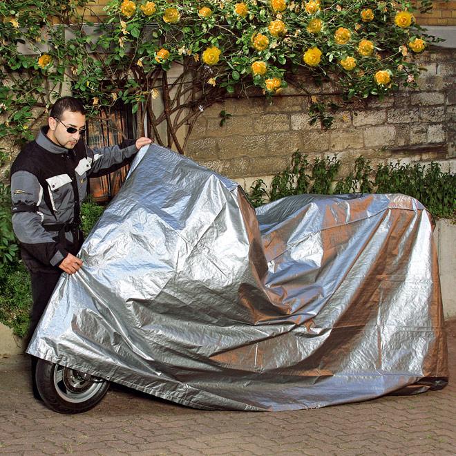 motorrad abdeckung abdeckplane plane garage schutzh lle winterplane schutzh lle. Black Bedroom Furniture Sets. Home Design Ideas