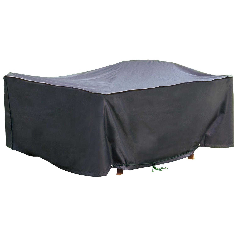 schutzh lle 200x160x70cm gartenm bel auflagen abdeckung sitzgruppe tisch st hle ebay. Black Bedroom Furniture Sets. Home Design Ideas