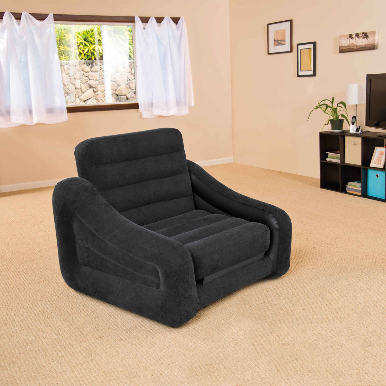 intex 68565 sofa couch lounge sessel bett ausziehbar. Black Bedroom Furniture Sets. Home Design Ideas