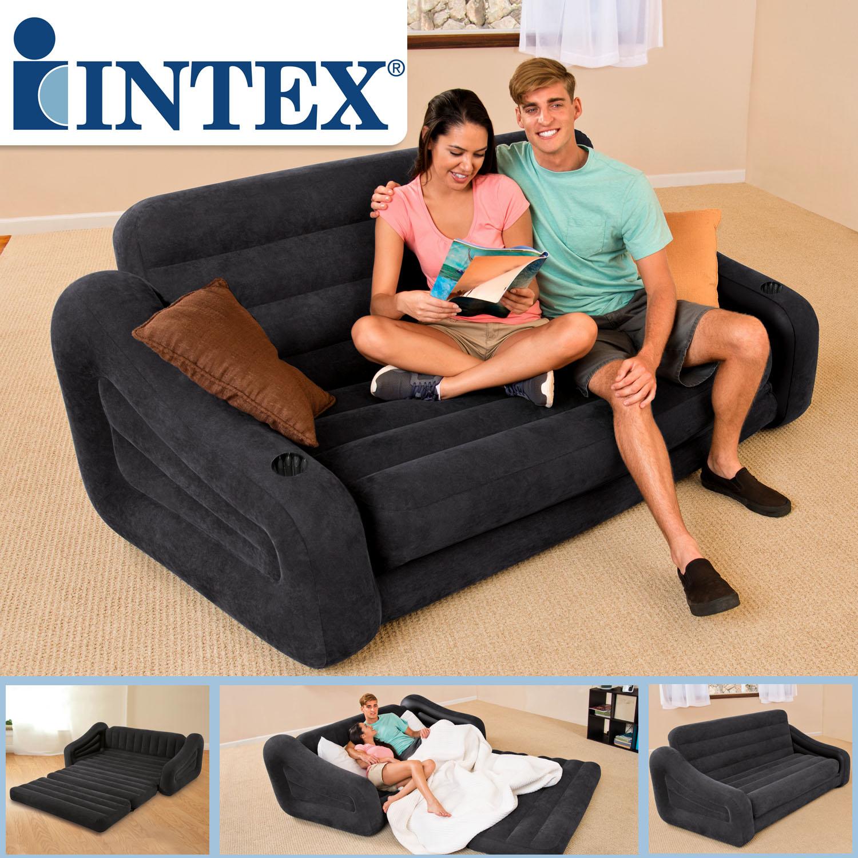 - Intex Sofa Pull-Out 193x221x66cm Couch Luftbett