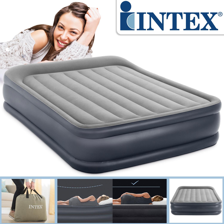 Intex letto gonfiabile con pompa letto ospiti letto for Letto gonfiabile