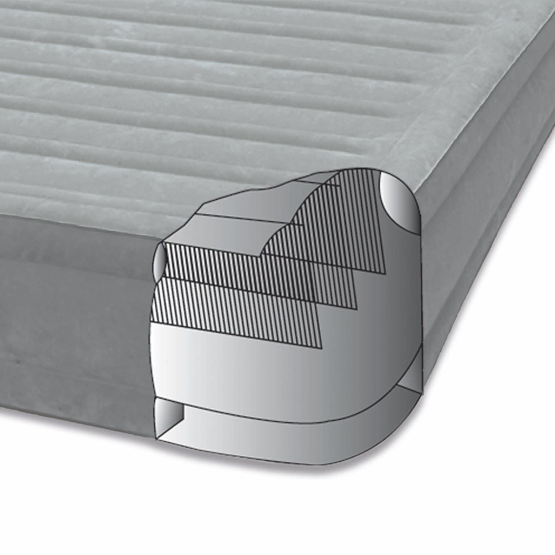 Intex 191x99x46cm luftbett mit pumpe g stebett bett matratze luftmatratze 64412 6933672848714 ebay - Bett mit seitenwand ...