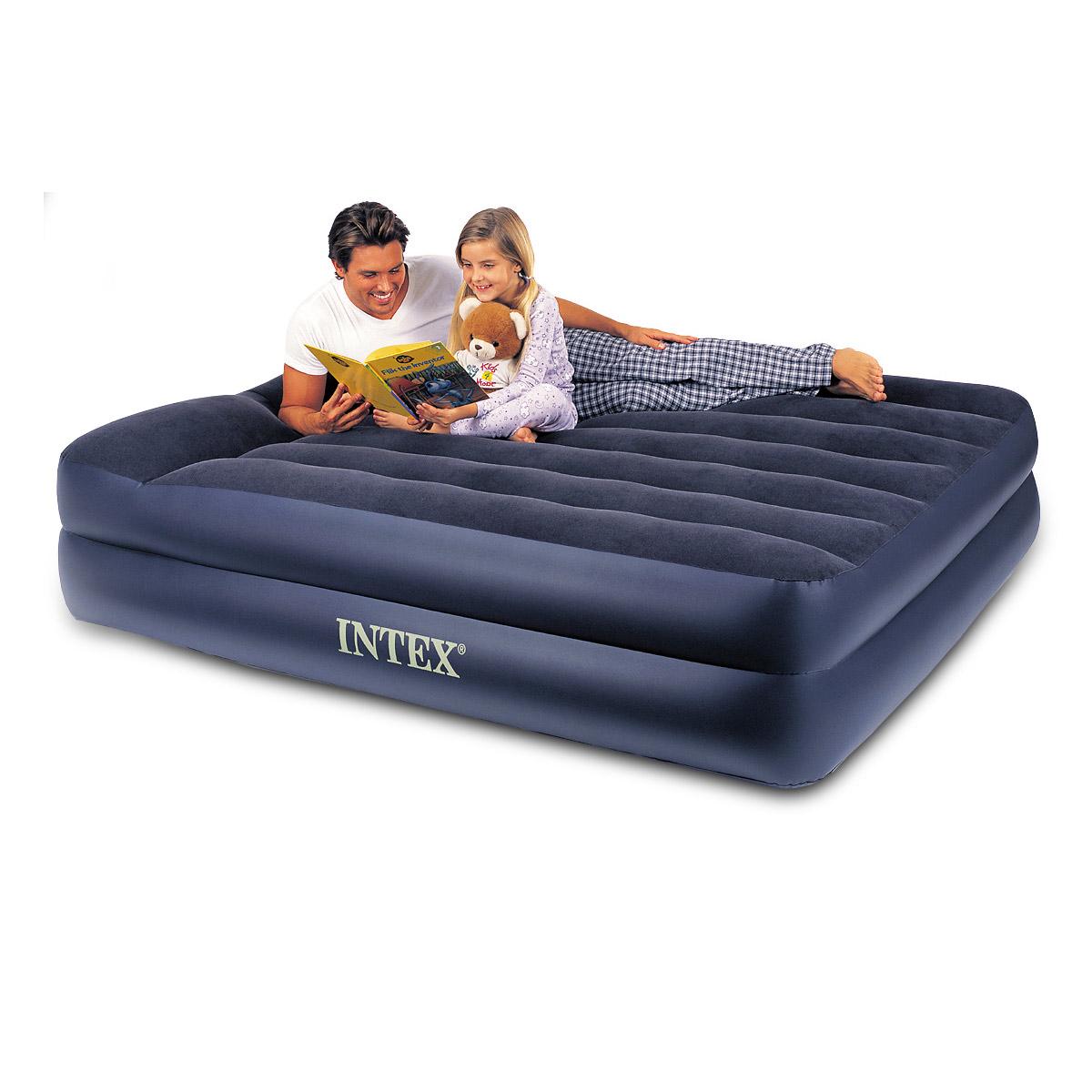 intex luftbett mit pumpe g stebett 152x203x42cm mit pumpe. Black Bedroom Furniture Sets. Home Design Ideas