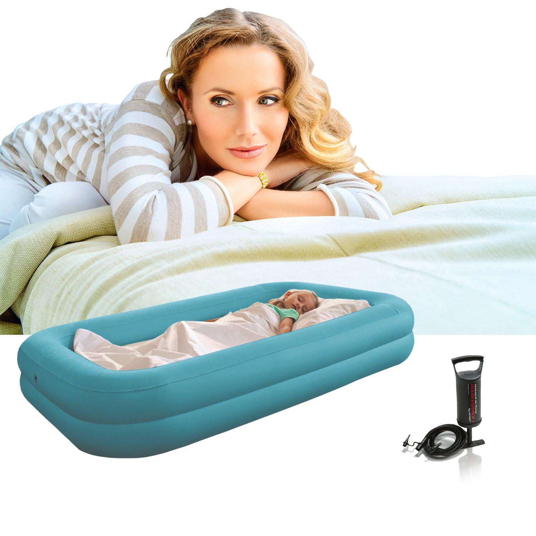 INTEX Kinderbett Luftbett mit Pumpe Gästebett Bett Luft Matratze ...