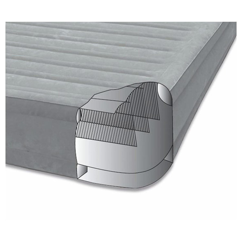 intex luftbett mit pumpe g stebett bett matratze luftmatratze selbstaufblasend 78257677665 ebay. Black Bedroom Furniture Sets. Home Design Ideas