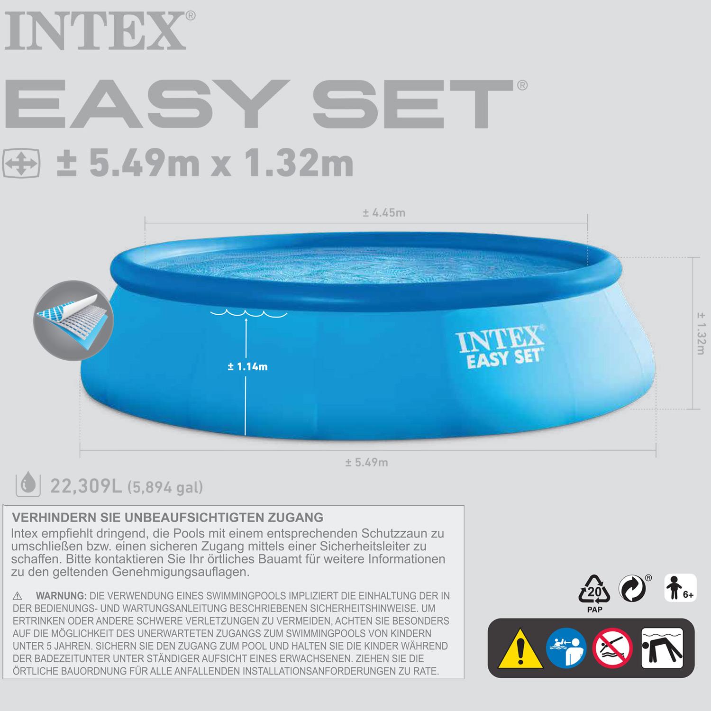 Extrem pool 132 tief xc83 kyushucon for Intex pool billig