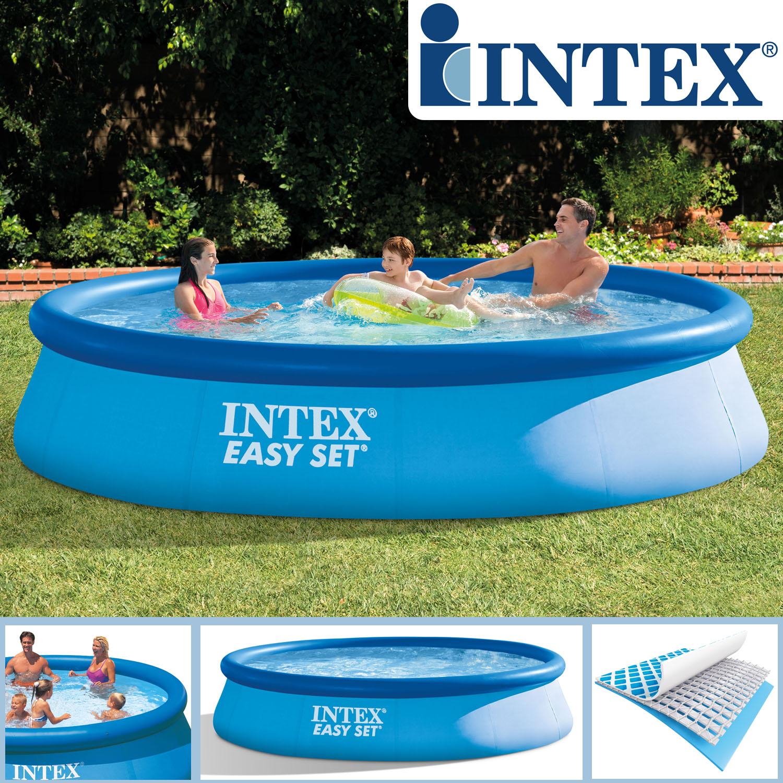 Intex 366x91 cm piscina piscina piscina piscina per for Easy piscinas