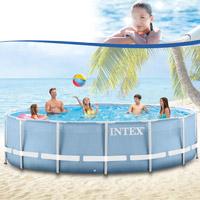 intex ersatz pool frame 366x122 cm mit anschluss set ohne schl uche. Black Bedroom Furniture Sets. Home Design Ideas