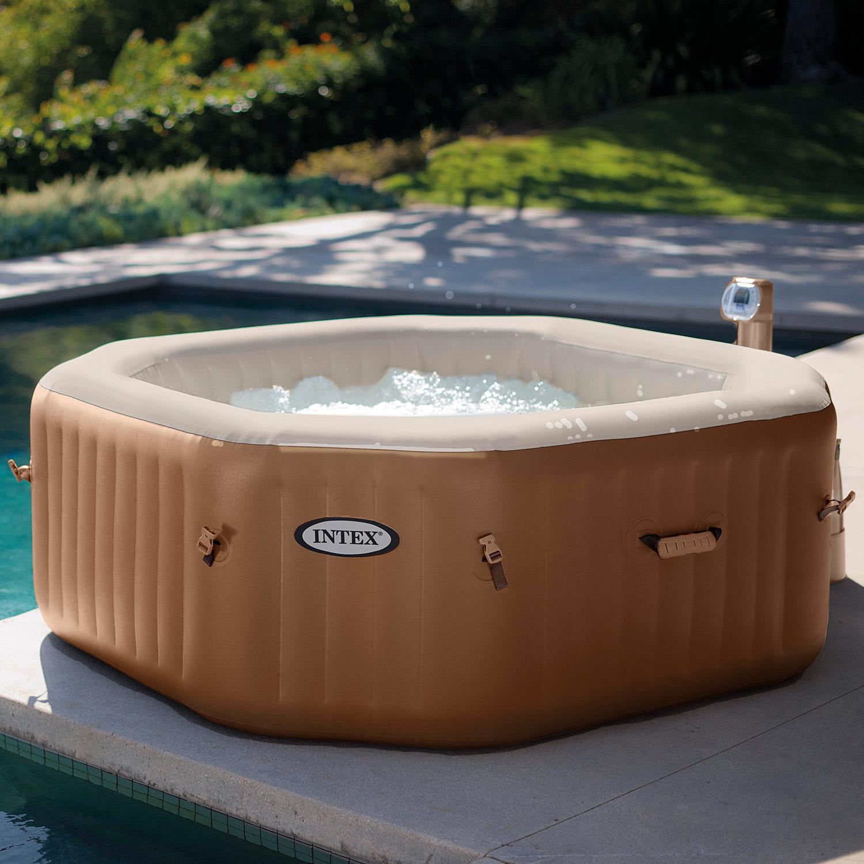 intex whirlpool pure spa bubble massage mit kalkschutzsystem. Black Bedroom Furniture Sets. Home Design Ideas