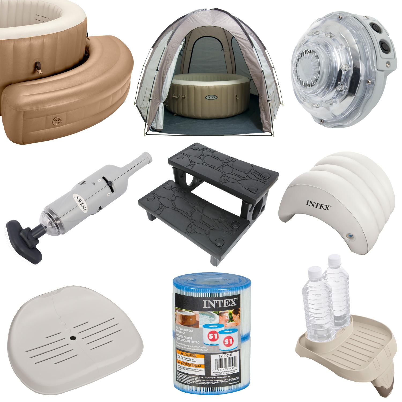 intex zubeh r f r whirlpool spa bubble led treppe sitz filter pool aufblasbar ebay. Black Bedroom Furniture Sets. Home Design Ideas