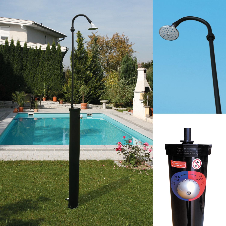 solardusche dusche solar pool gartendusche camping aussendusche pooldusche 49005 ebay. Black Bedroom Furniture Sets. Home Design Ideas