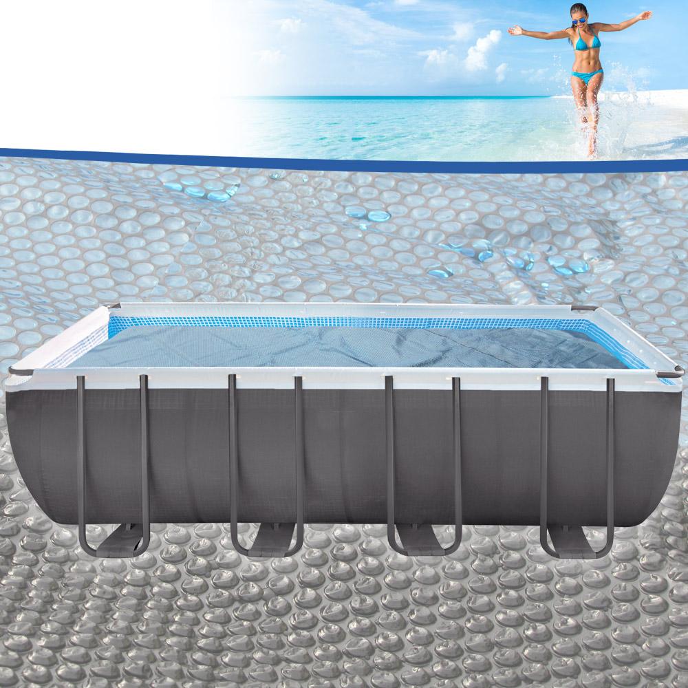 Miganeo pool solarplane 549x274 schwarz blau for Poolplane 549