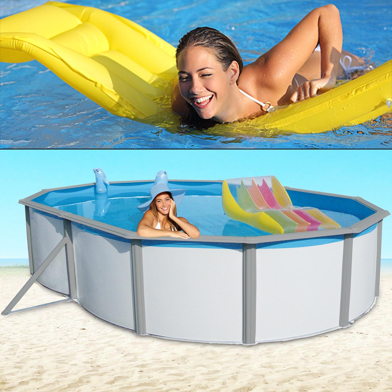 Stahlwandpool einbaubecken schwimmbecken pool schwimmbad for Stahlwandpool set angebote