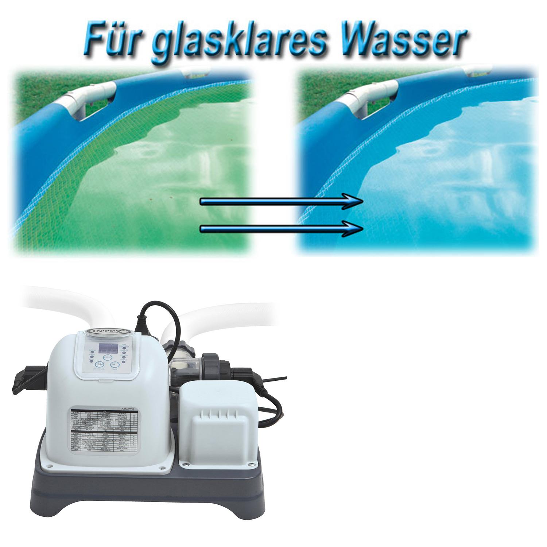 intex chlorgenerator chlor salzwassersystem pool chlorinator chlorfrei salz ebay. Black Bedroom Furniture Sets. Home Design Ideas