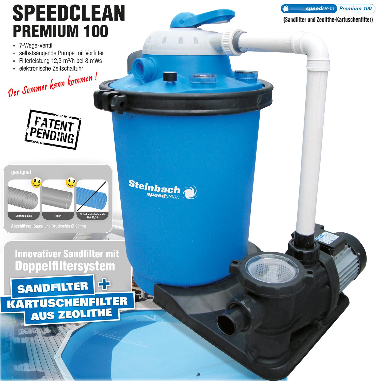 premium hybrid sandfilteranlage f r pool bis 61m sandfilter filter filterkessel ebay. Black Bedroom Furniture Sets. Home Design Ideas