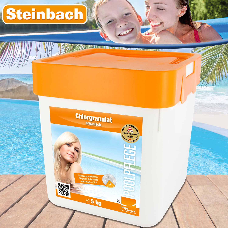 5kg chlorgranulat chlor granulat pflege pool schwimmbad reinigung 56 aktivchlor ebay. Black Bedroom Furniture Sets. Home Design Ideas