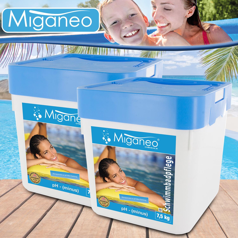 15 kg ph minus senker granulat pflege wasser wert f pool schwimmbad teich algen 4251273903024. Black Bedroom Furniture Sets. Home Design Ideas