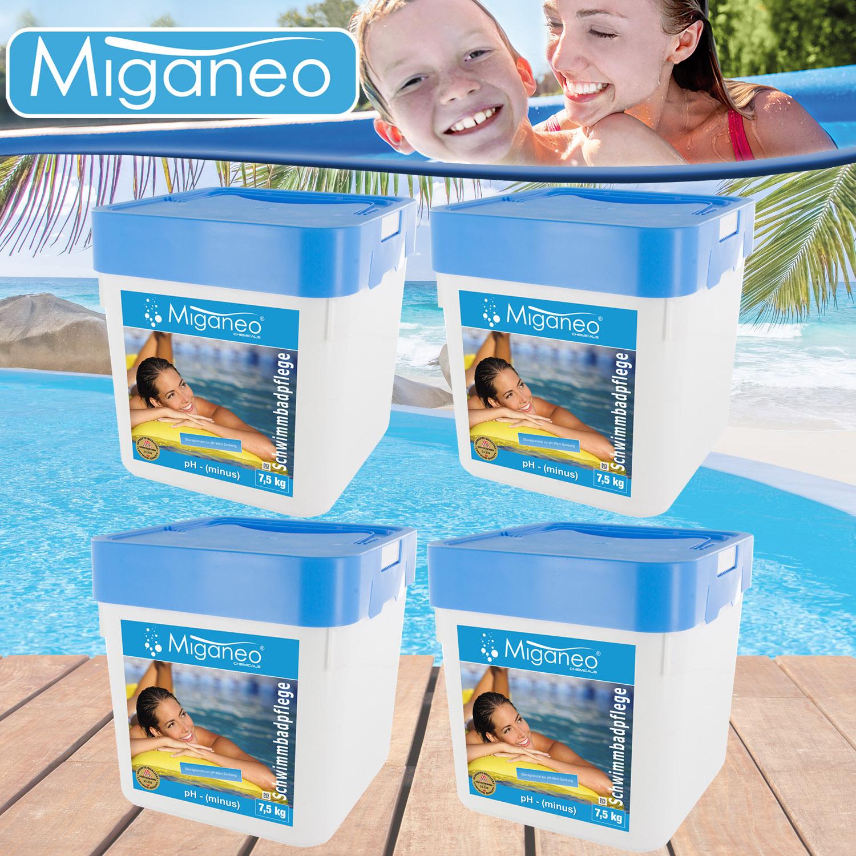 30 kg ph minus senker granulat pflege wasser wert f pool schwimmbad teich algen ebay. Black Bedroom Furniture Sets. Home Design Ideas