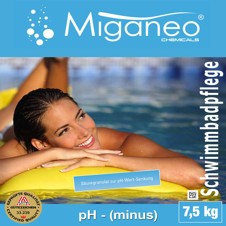 30 kg ph minus senker granulat pflege wasser wert f pool schwimmbad teich algen 4251273903055. Black Bedroom Furniture Sets. Home Design Ideas