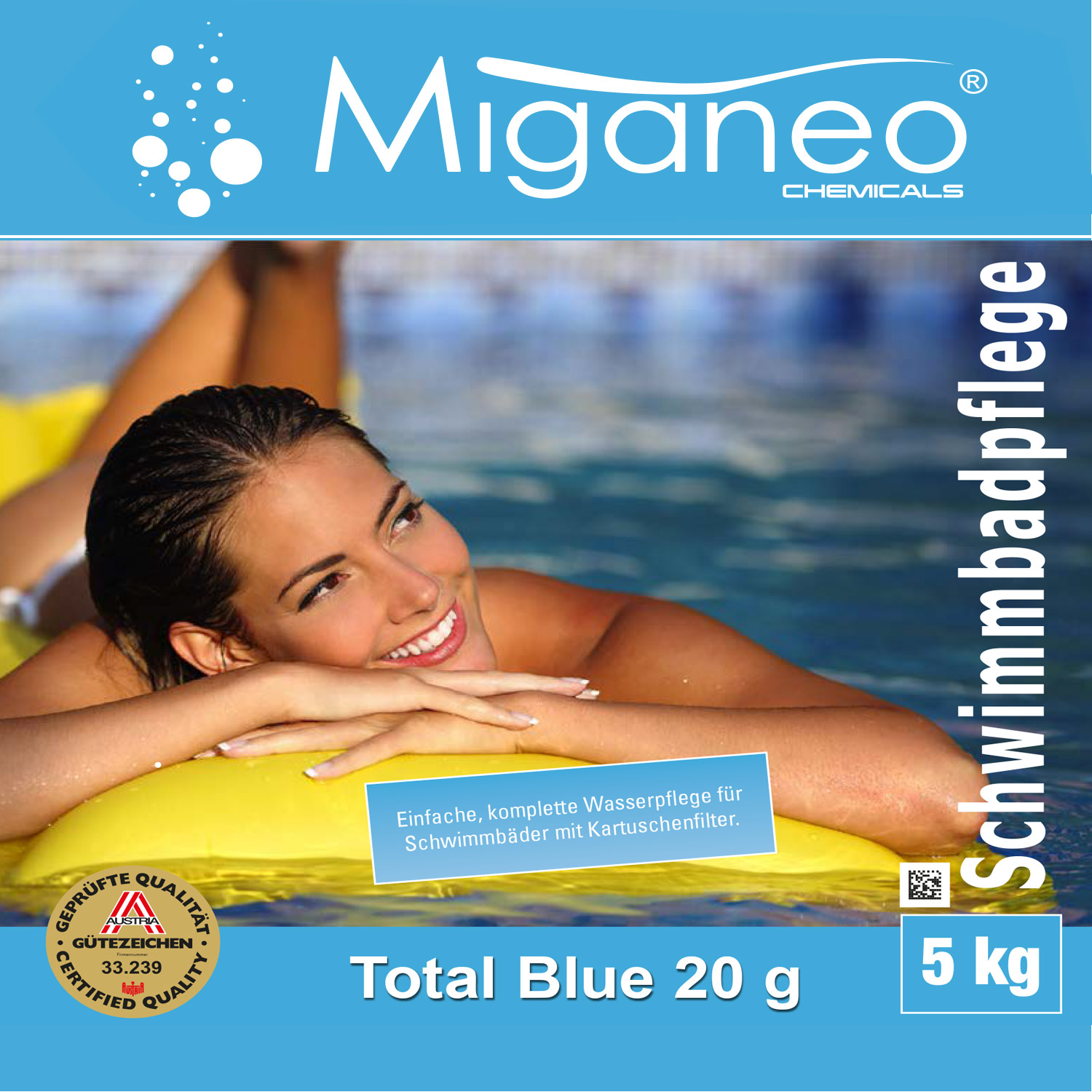 miganeo blue power tabs 5kg multitabs 5 in 1. Black Bedroom Furniture Sets. Home Design Ideas
