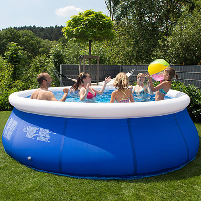 Pool 366x84 easy sandfilter schwimmbecken schwimmbad for Garten pool mit sandfilter