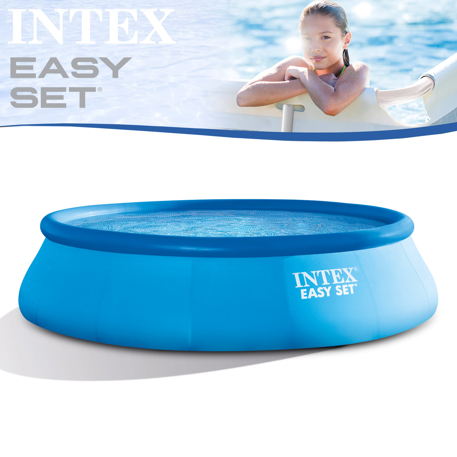 intex 457x91 schwimmbecken swimming pool schwimmbad quick. Black Bedroom Furniture Sets. Home Design Ideas