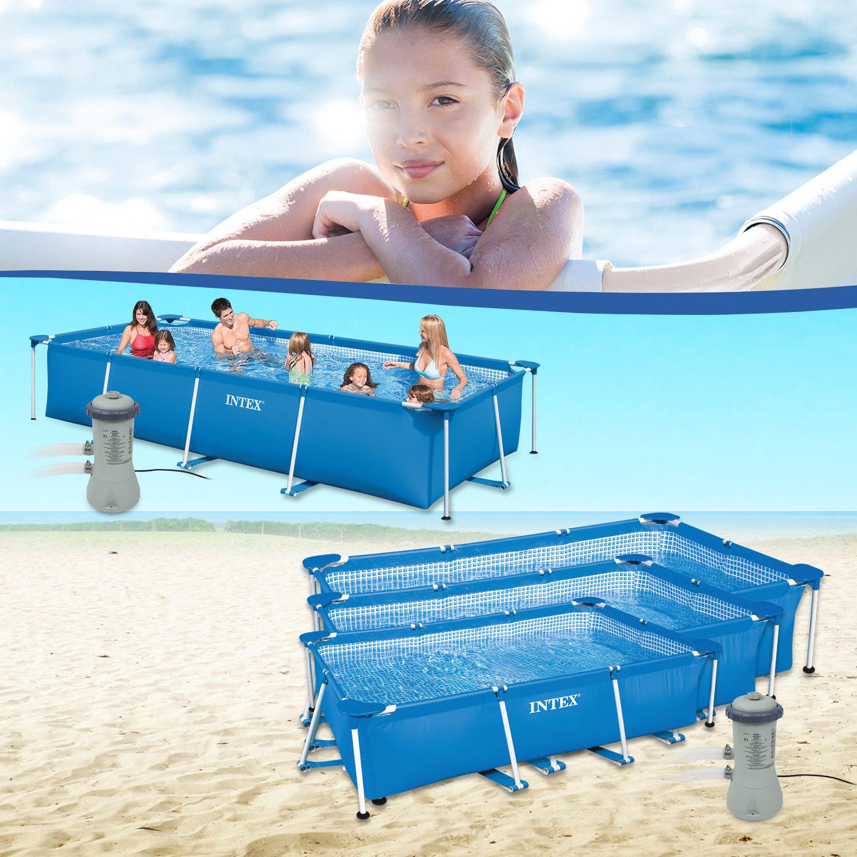 Intex Frame Pool Family Mit Intex Pumpe 604g
