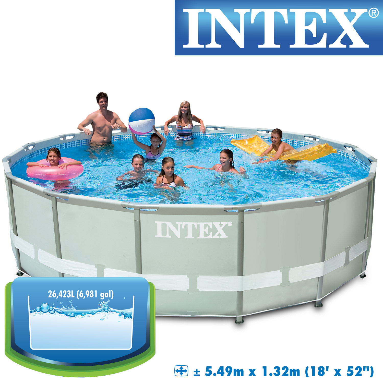 10989 intex ersatzpool 549x132 cm swimming pool frame ohne gest nge. Black Bedroom Furniture Sets. Home Design Ideas