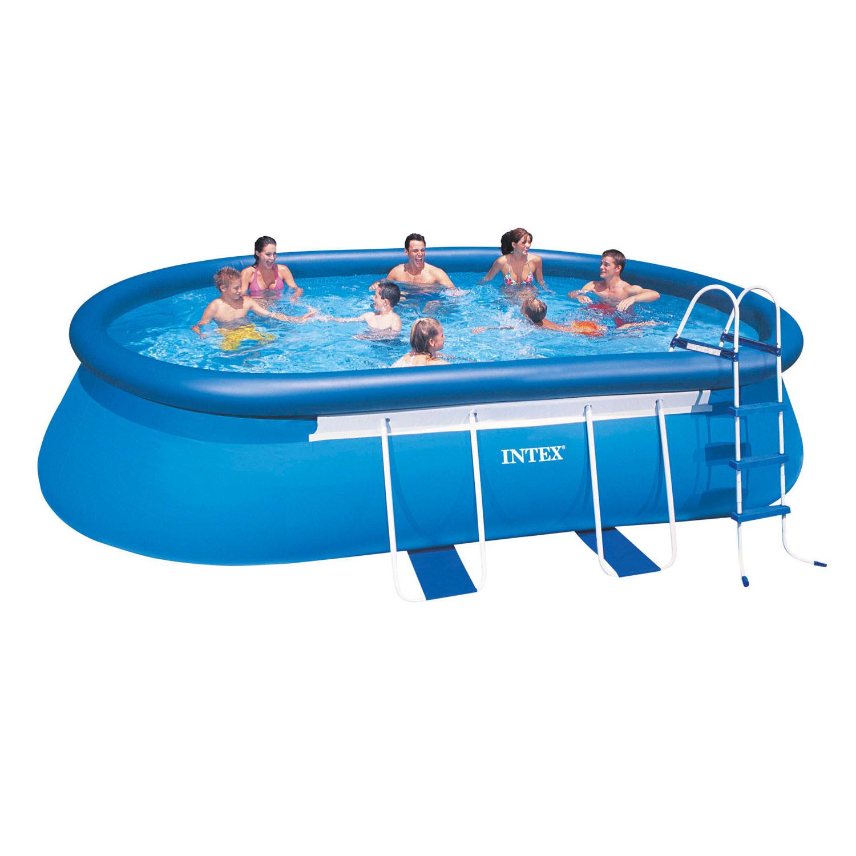 Intex Oval Frame Pool Set 549 x 305 x 107 cm