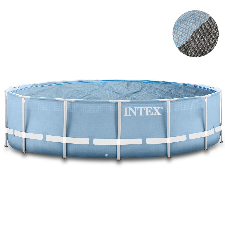 intex ersatz pool frame 366 x 91 cm filterpumpe leiter solarfolie. Black Bedroom Furniture Sets. Home Design Ideas