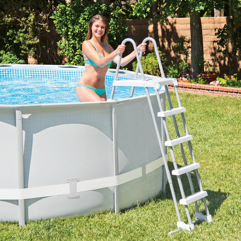 Intex 488x122 schwimmbecken swimming pool schwimmbad for Garten pool komplettset