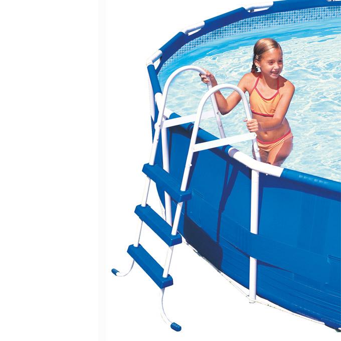 intex frame pool set prism 400x200x100 cm pumpe schwimmbad schwimmbecken 28316gn ebay. Black Bedroom Furniture Sets. Home Design Ideas