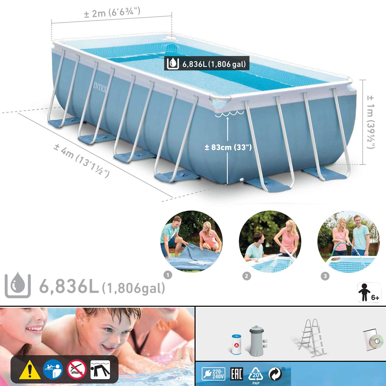 Erfreut ein frame leiter f r die oberirdischen pool bilder for Poolleiter obi