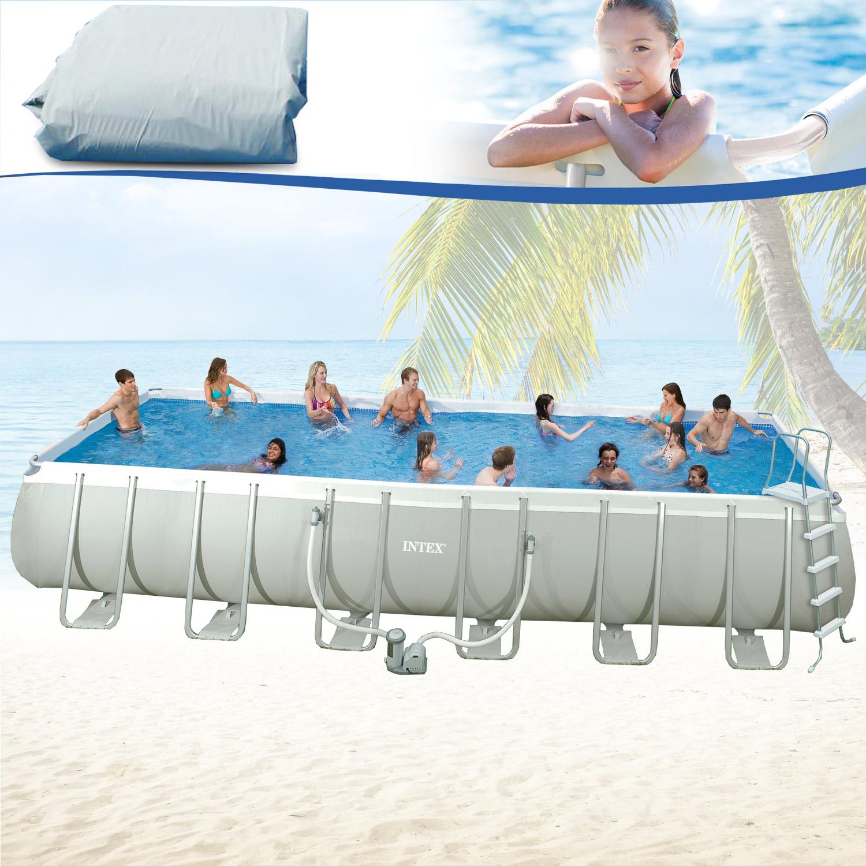 intex 549x274x132 swimming pool ersatzfolie frame stahlwandbecken schwimmbecken ebay. Black Bedroom Furniture Sets. Home Design Ideas
