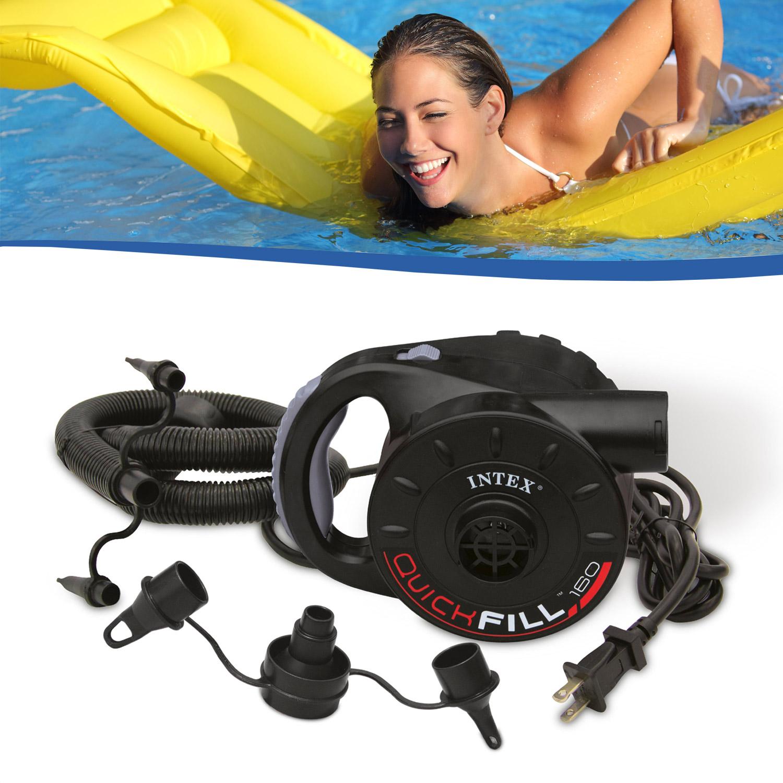intex luftpumpe pool boot elektrische pumpe bett luftbett. Black Bedroom Furniture Sets. Home Design Ideas