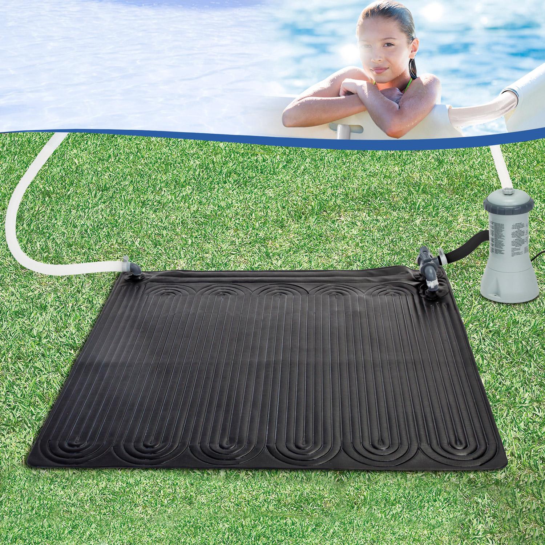 intex 120x120 cm pool solarmatte solarkollektor. Black Bedroom Furniture Sets. Home Design Ideas