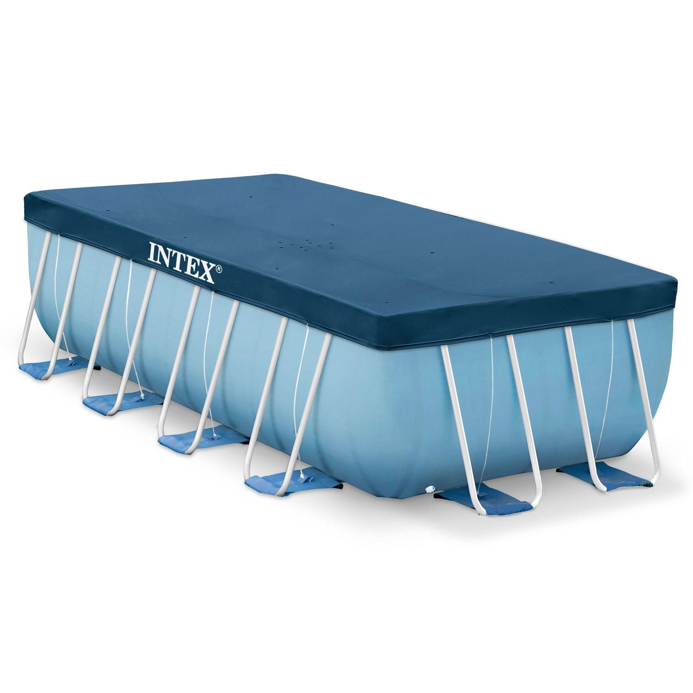 intex 400x200cm abdeckplane poolplane poolabdeckung plane. Black Bedroom Furniture Sets. Home Design Ideas