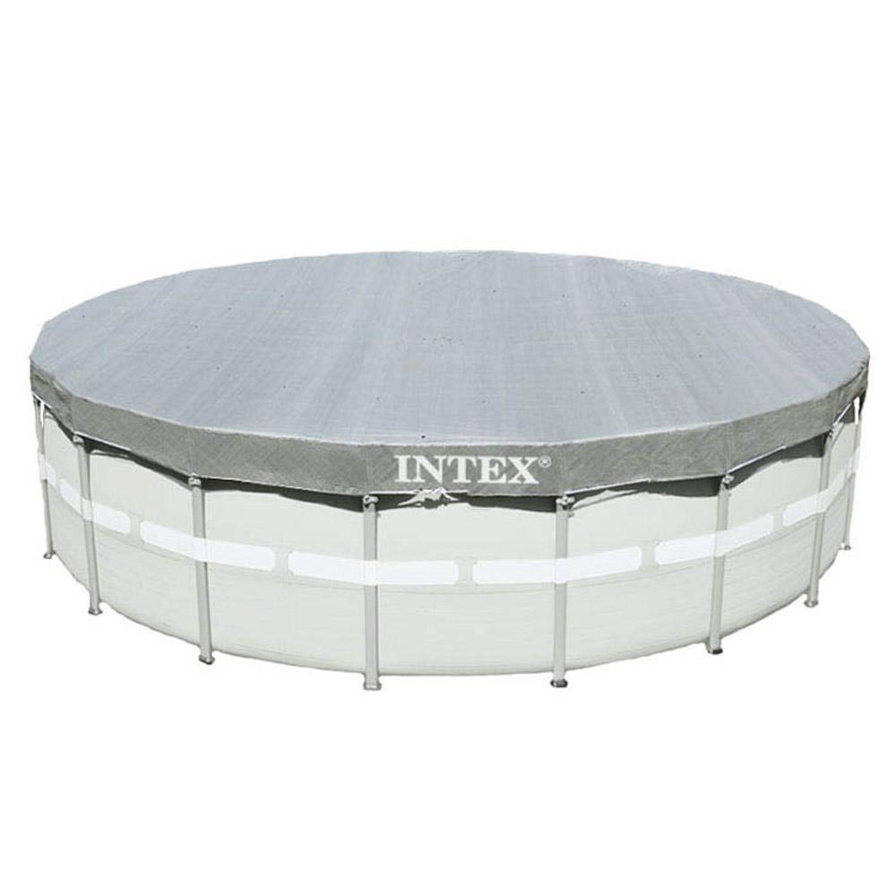 intex 549 abdeckplane poolplane poolabdeckung plane pool abdeckung frame 28041 ebay. Black Bedroom Furniture Sets. Home Design Ideas