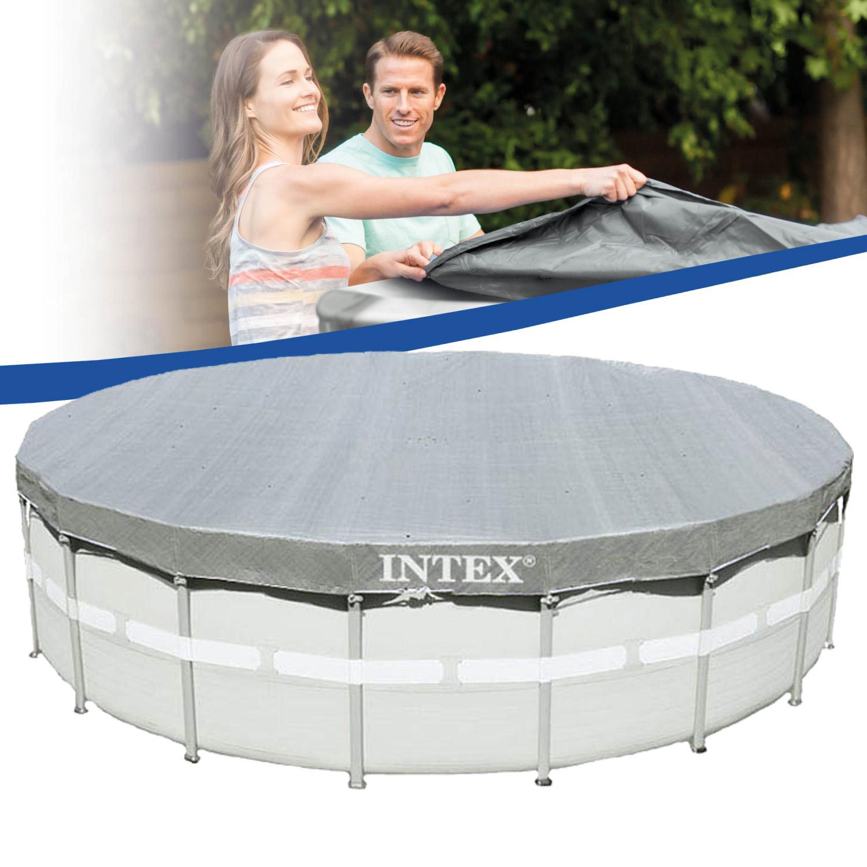 intex abdeckplane f r frame pool in gr e ihrer wahl oder unterlegeplane. Black Bedroom Furniture Sets. Home Design Ideas