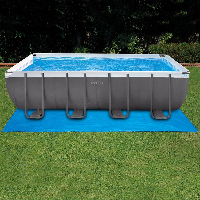 Intex bodenschutzplane f r pool 549 x 274 x 132cm for Poolplane 549