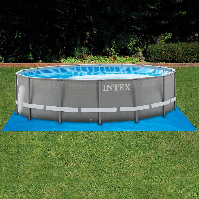 intex bodenschutzplane f r pool bis 550cm. Black Bedroom Furniture Sets. Home Design Ideas