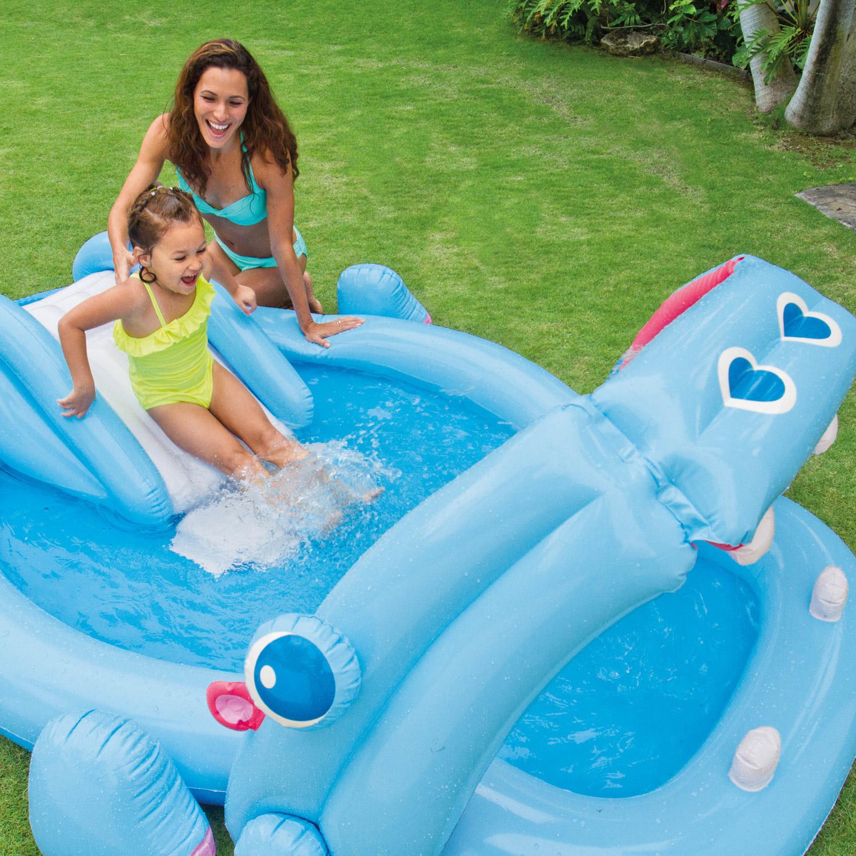 Intex 57150 planschbecken kinder pool mit rutsche - Pool mit rutsche ...