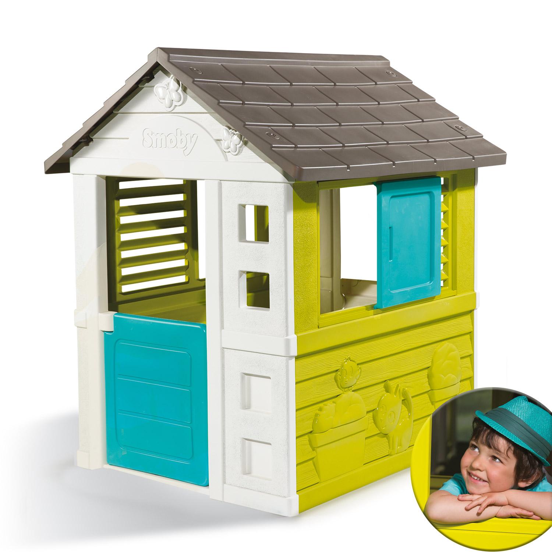 Smoby Spielhaus Pretty Haus Gartenhaus Kinder Kinderhaus Garten ...