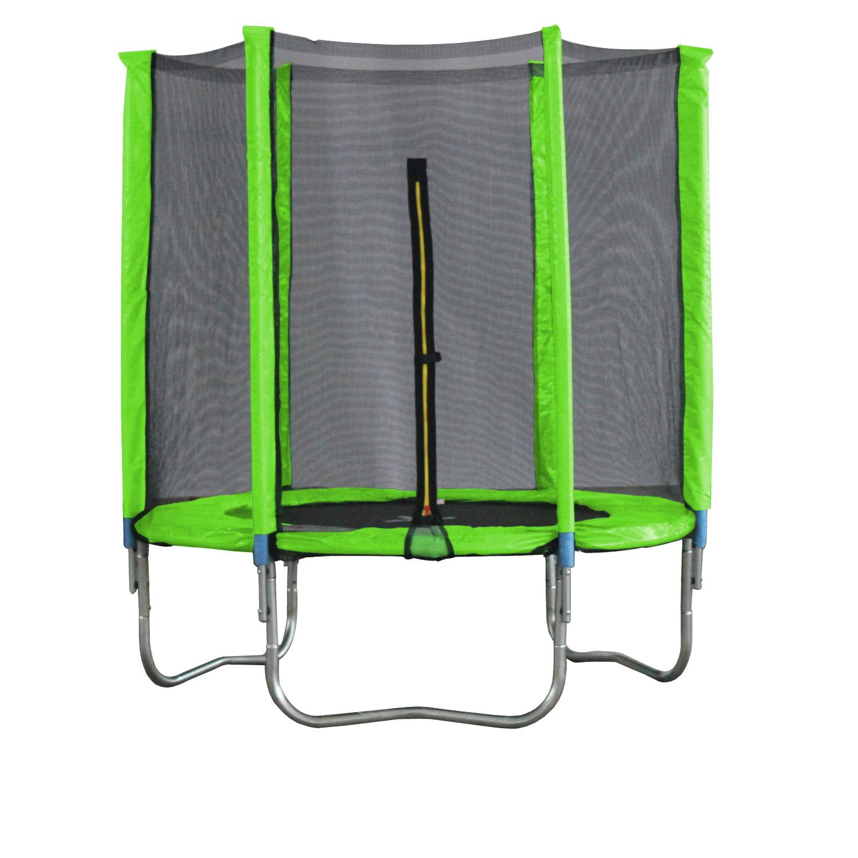trampolin 183cm mit netz sicherheitsnetz gartentrampolin. Black Bedroom Furniture Sets. Home Design Ideas