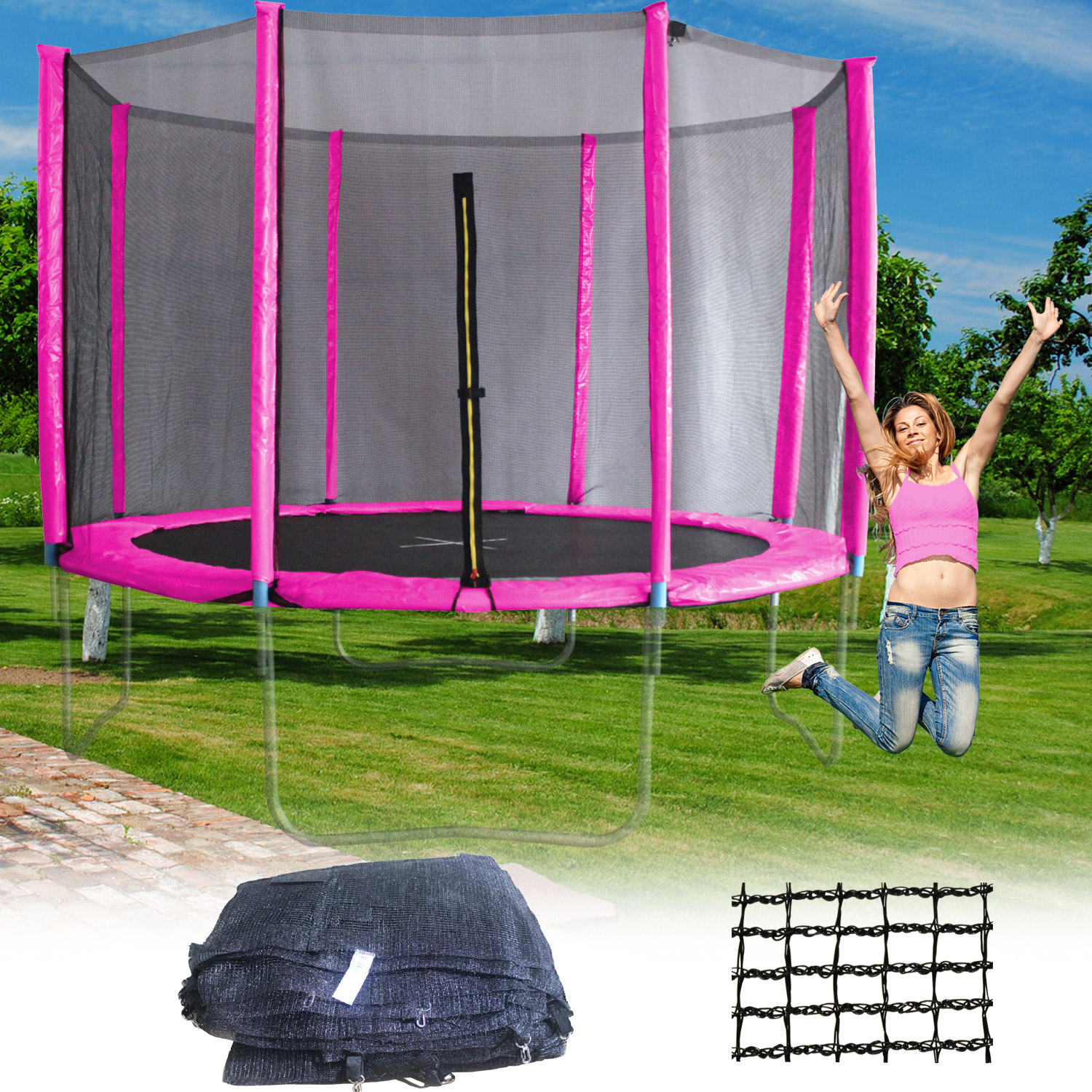 trampoline. Black Bedroom Furniture Sets. Home Design Ideas