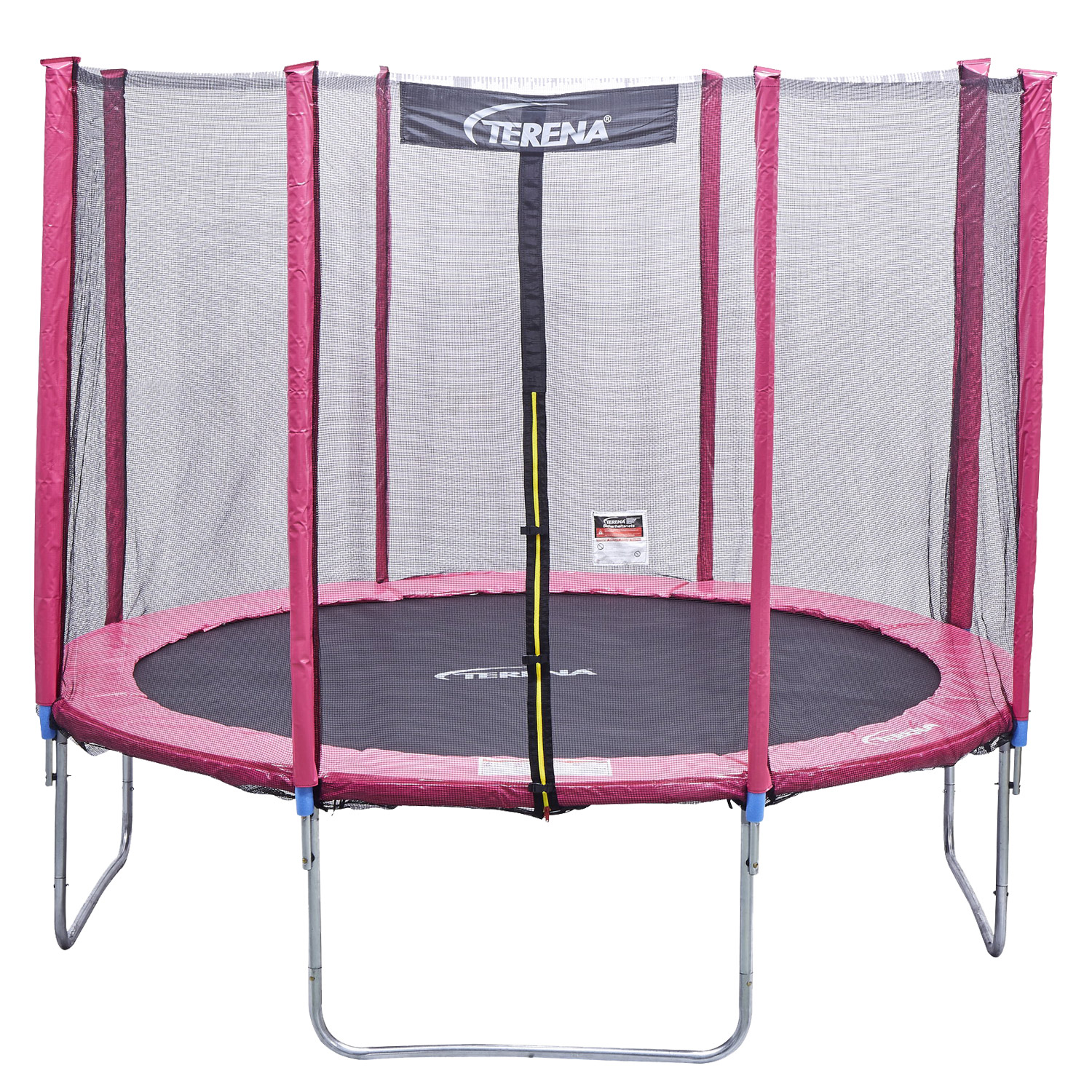 terena ersatznetz sicherheitsnetz pink f r trampolin 366 cm 8 stangen. Black Bedroom Furniture Sets. Home Design Ideas