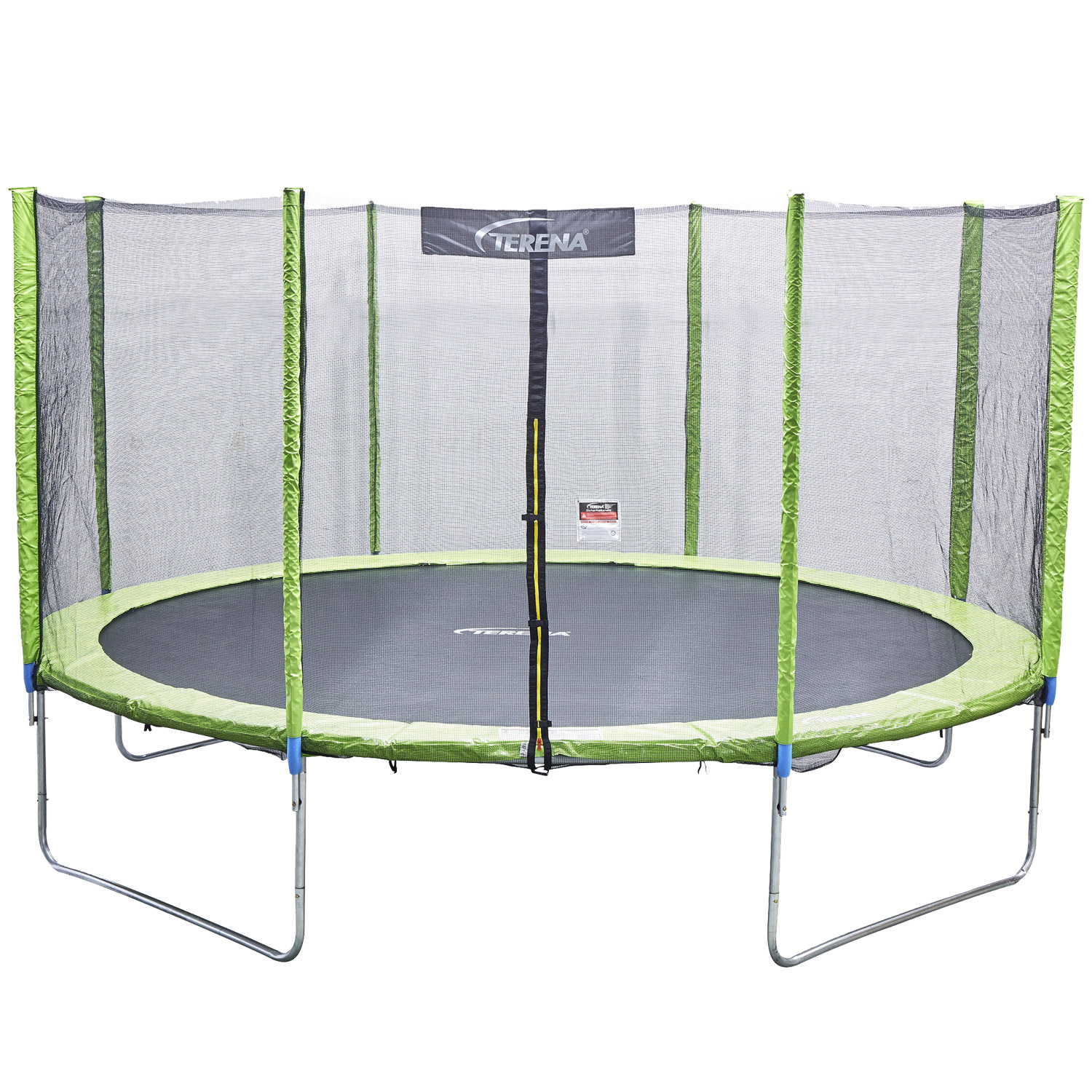 trampolin 366 cm mit netz sicherheitsnetz gartentrampolin f r kinder 12ft gr n ebay. Black Bedroom Furniture Sets. Home Design Ideas