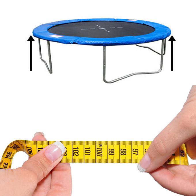 federabdeckung 366 trampolin randabdeckung mit sicherheitsnetz ersatznetz netz ebay. Black Bedroom Furniture Sets. Home Design Ideas